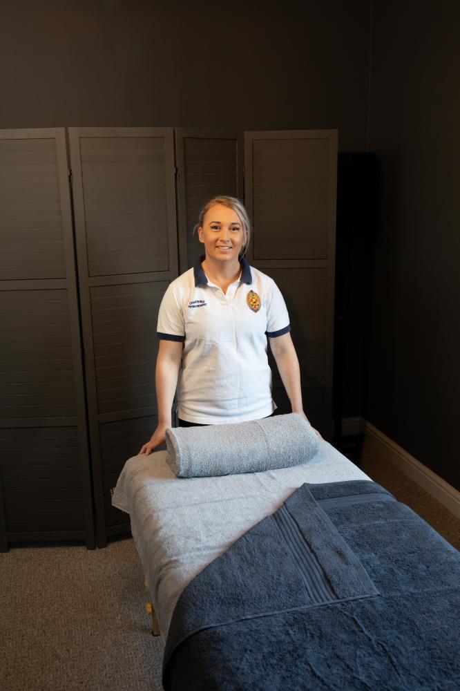 Sarah Tompkin - Chartered Physiotherapist